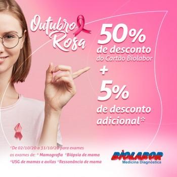 Outubro Rosa com um toque especial!